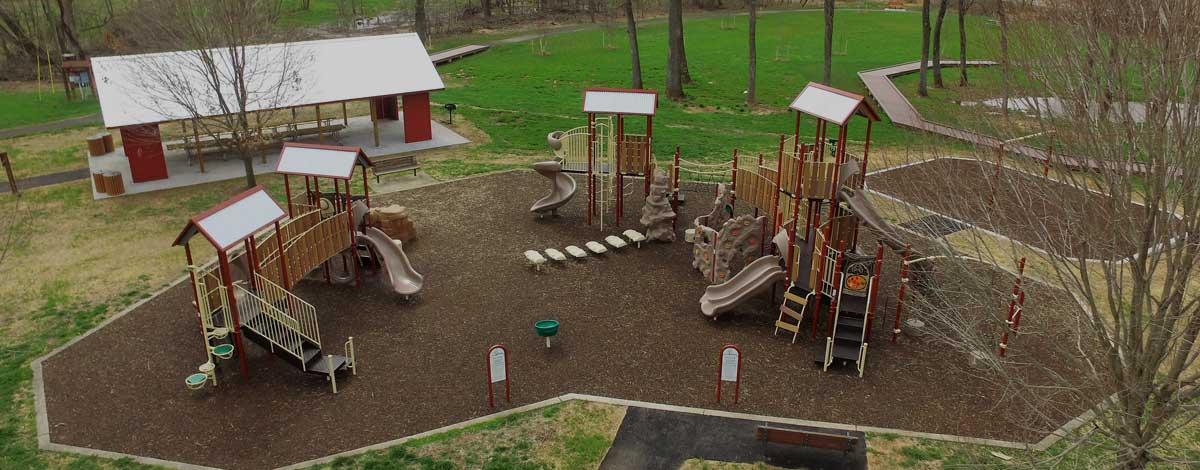 Commercial Playground Installation in VA